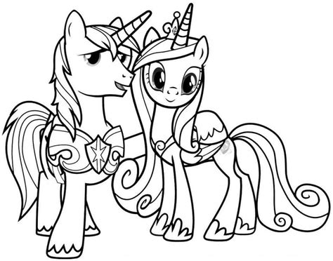 my little pony birthday party coloring pages my little pony princess cadence coloring pages coloring home