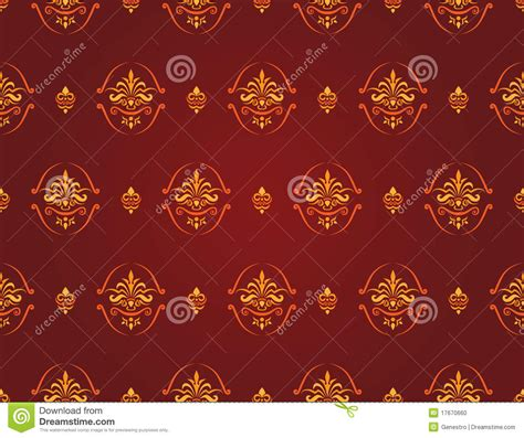 pattern red and gold red and gold pattern stock photo image 17670660