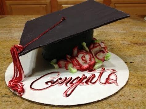 Graduation Cap Cake / Cake Decorating   YouTube