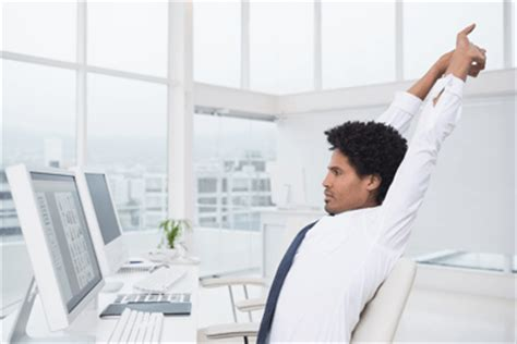 Exercise At Desk by 4 Discreet Desk Exercises To Get The Blood Pumping At Work