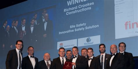 Mba Awards 2017 Winners by Mba Excellence In Construction Winners Richard Crookes