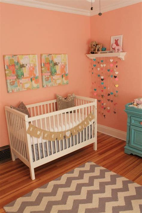 pink toddler bedroom ideas 25 best ideas about peach nursery on pinterest girl 16757 | 68b1475b4d9abf997cbd4b4139026b7d