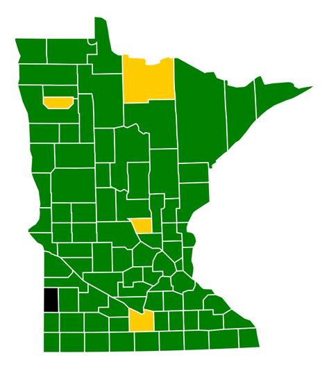 Republican Also Search For File Minnesota Republican Presidential Caucuses Election Results By County 2012 Svg