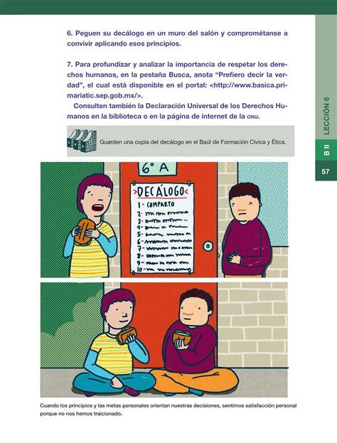 libros de la sep 6 grado de formacion civica y etica 2016 2017 libros de la sep 6 grado de formacion civica y etica 2016