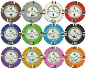 chip color value claysmith gaming bluff casino chips