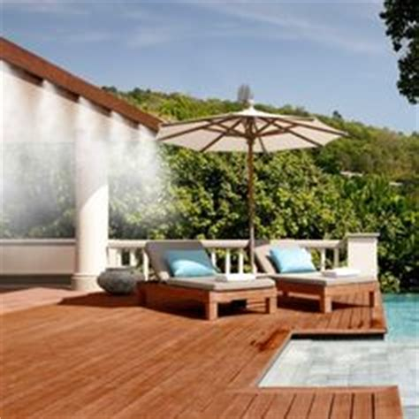 Best Patio Misting System by 1000 Images About Misting System On Water