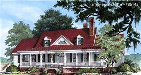 country style home with metal roof house plans including country home designs country porch plans country style
