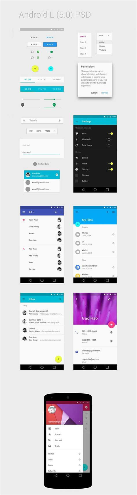 website templates for android 10 gui templates for android downgraf com design shop