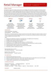 sle retail manager resume retail cv template sales environment sales assistant cv