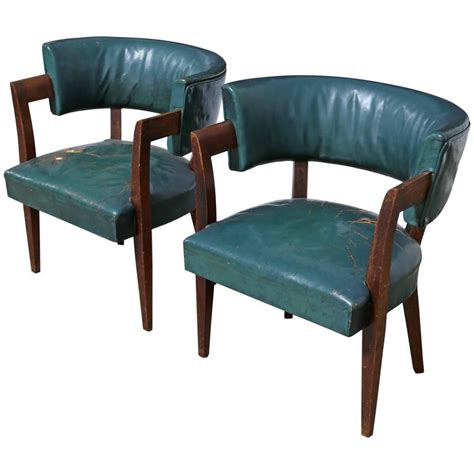 iconic chairs pair of iconic chairs by eugene schoen for sale at 1stdibs