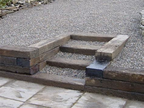 Sleeper Steps by 39 Best Images About Sleeper Retaining Wall Steps On