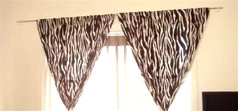 ways to hang curtains without rods how to hang curtains without making holes in the wall