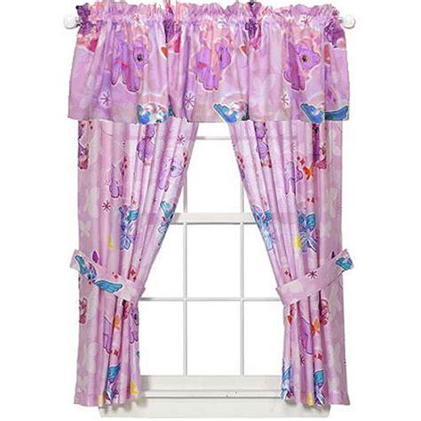 my little pony curtains my little pony curtains set 5pc butterflies drapes