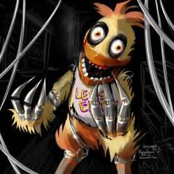 Fnaf chicken claws combusken creepy crossover dark female five nights