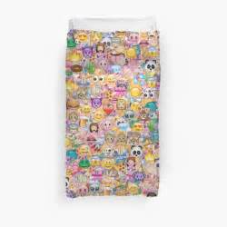 Next King Size Duvet Quot Happy Emoji Pattern Quot Duvet Covers By Martaolgaklara
