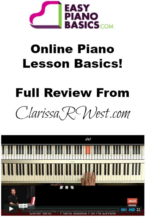 online tutorial keyboard easy piano basics review clarissa r west