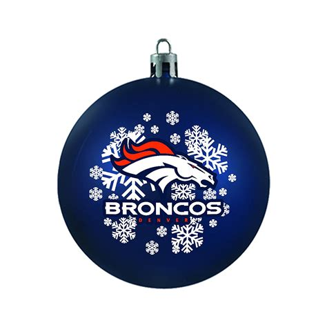 denver broncos christmas tree ornaments christmas