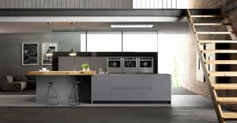 beautiful Kitchen Island For Small Apartment #1: loft-kitchen-design.jpg