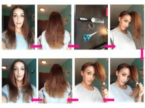 how to cut s hair step by step layered haircut make up by dee dal