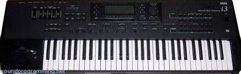 Keyboard Korg I3 korg i3 sound programming