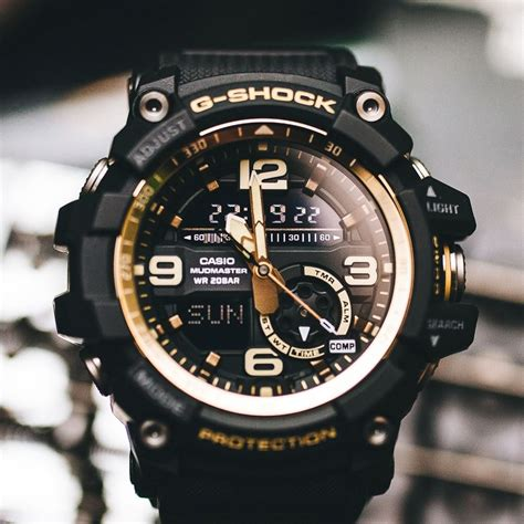 Casio G Shock Gg 1000 Black g shock gg 1000gb 1a black gold mudmaster