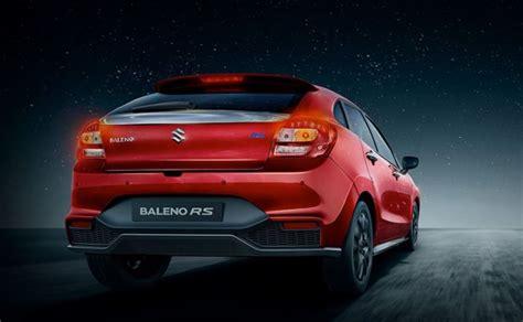 Suzuki Rs Maruti Suzuki Baleno Rs Bookings Open Waiting Period Up