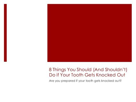 8 Things You Should Not Do At Your Wedding by 8 Things You Should And Shouldn T Do If Your Tooth Gets