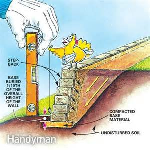 Leveling A Backyard How To Build Retaining Walls Stronger The Family Handyman
