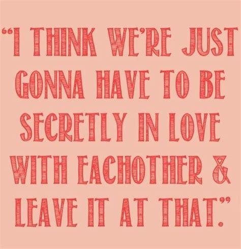 Secret Crush Quotes Quotesgram