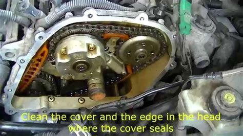 2008 vw beetle 2 5 engine vw 2 5 l engine removing timing cover