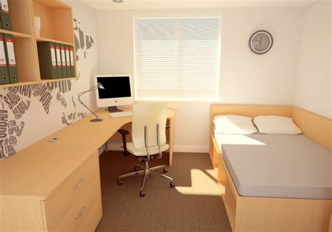 Desks With Cable Management Student Bedroom Furniture