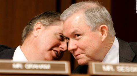 jeff sessions graham lindsey graham vows holy hell to pay if sessions is