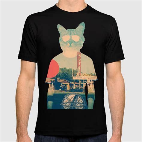 cool cat  shirt  aligulec society