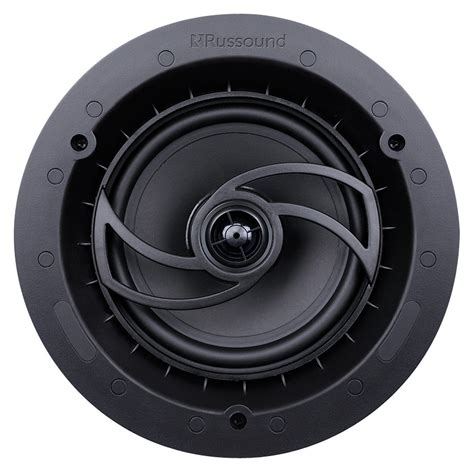 Black In Ceiling Speakers by Russound Rsf 610 Acclaim 6 5 Quot In Wall In Ceiling Speaker