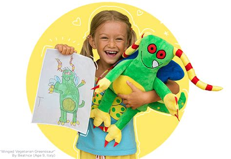 Make Your Own Stuffed Animal From Drawing