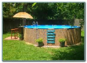 decorating around above ground pool decks build around above ground pools pools home