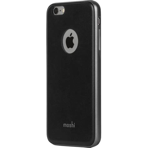 Moshi Iglaze Napa For Iphone 66s Black moshi iglaze napa for iphone 6 plus 6s plus 99mo080002 b h