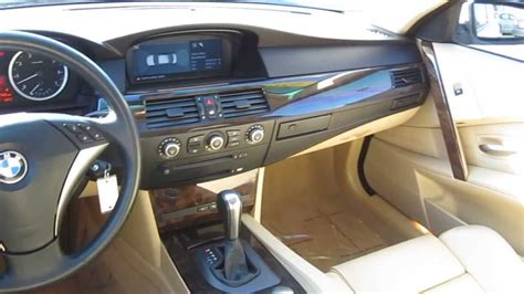 bmw 2005 interior 2005 bmw 5 series white stock b2333a interior