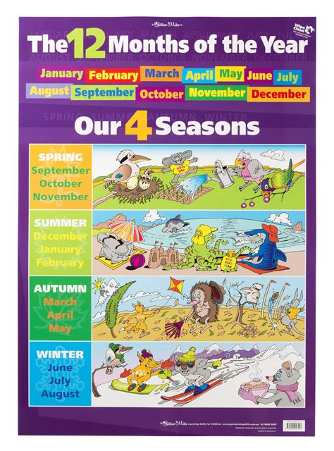 Season To Season 4 seasons of the year months www pixshark images