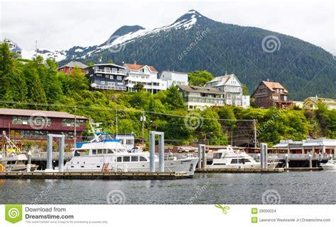 ketchikan alaska 922014 summer tour guides for ships photos alaska ketchikan boats homes and mountains editorial