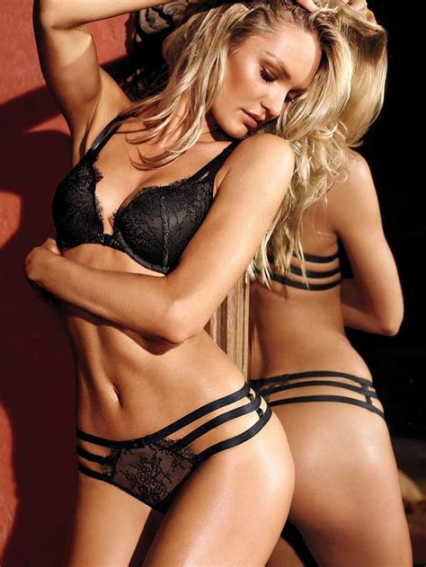 victorias secret model with bob haircutjnnnamnaasmtgyiuop candice swanepoel stuns in victoria s secret lingerie