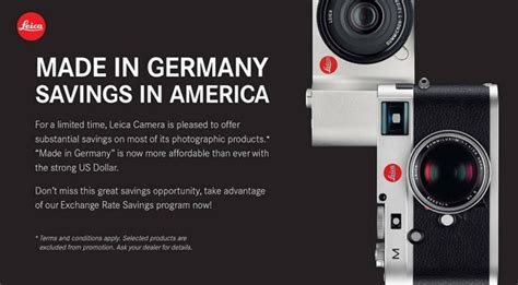 leica sale leica sale us customers save 12 on most leica gear