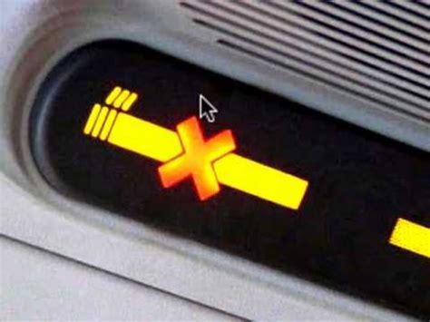 no smoking sign plane electronic cigarettes smoke on the airplane youtube