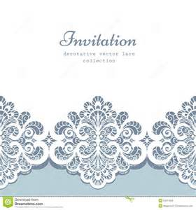 lace template lace border template stock vector image 54511826