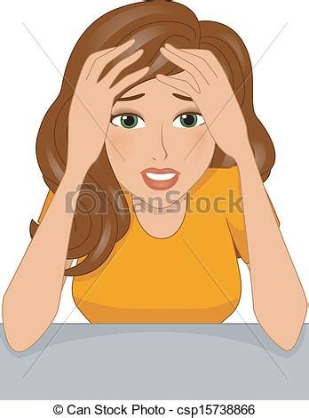 Stressed Clipart