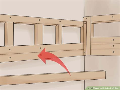 how to build a size loft bed with desk how to build a loft bed with pictures wikihow