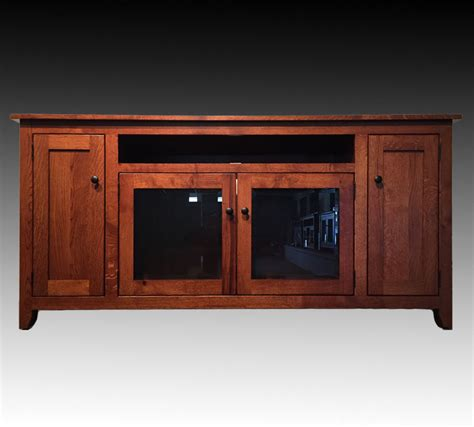 mentor furniture ashery oak 70 inch amish home theater