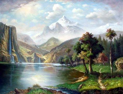 Landscape Pictures Canvas Landscape Painting Painting On Canvas Landscape
