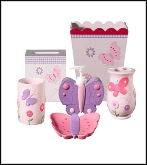 bathroom sets for girls cute and cool kids bathroom accessories for girls and