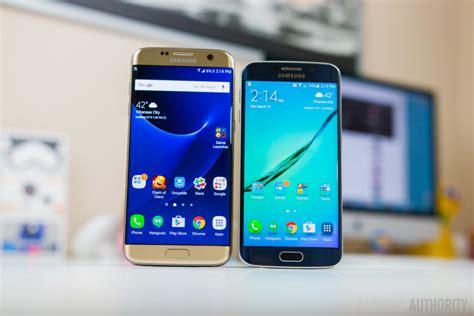 V Samsung S7 Edge Samsung Galaxy S7 Edge Vs Galaxy S6 Edge Android Authority